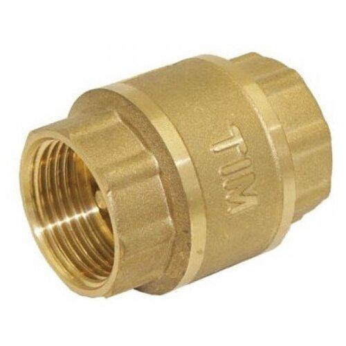 Обратный клапан шаровый Tim JH-1014 муфтовый (ВР/ВР), латунь