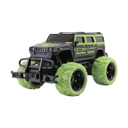 Купить Внедорожник Пламенный мотор Трофи Герой (870313) зеленый, Радиоуправляемые игрушки