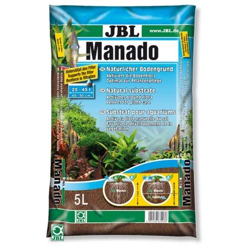 Грунт JBL Manado 5 л, 3.4 кг коричневый