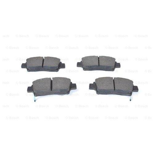 Фото - Дисковые тормозные колодки передние Bosch 0986461123 для Toyota (4 шт.) дисковые тормозные колодки передние nibk pn1521 для toyota camry 4 шт