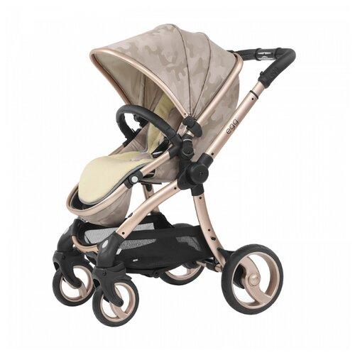 Прогулочная коляска EGG Egg Stroller camo sand/gold mirror chassis, цвет шасси: золотистый