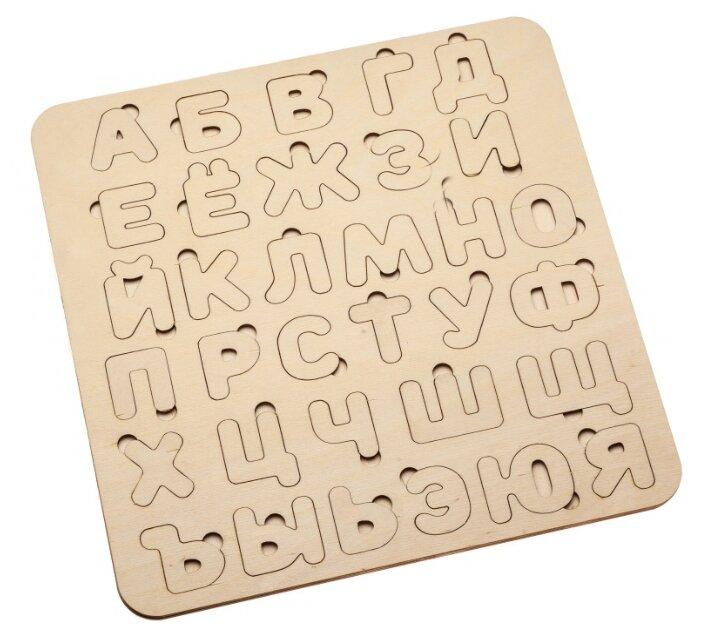 Рамка-вкладыш BRADEX Азбука (DE 0420), 33 дет.