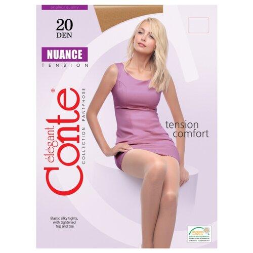 Фото - Колготки Conte Elegant Nuance 20 den, размер 5, bronz (бежевый) комплект conte elegant conte elegant mp002xw13v8a