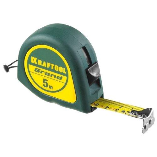 Измерительная рулетка Kraftool 34022-05-19 19 мм x 5 м рулетка topex 27c343 19 мм x 3 м