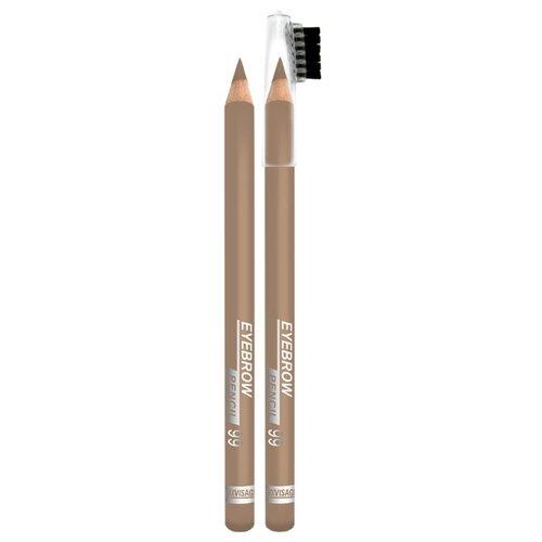 LUXVISAGE карандаш стойкий пудровый, оттенок 99-блонд