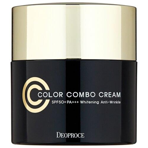 Deoproce CC крем Color Combo, SPF 50, 40 г, оттенок: 13 фото