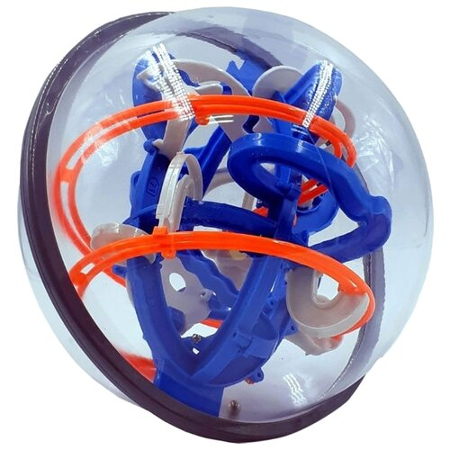 Купить Головоломка KAKADU Шар-лабиринт Космическая станция (K-67) синий/оранжевый, Головоломки