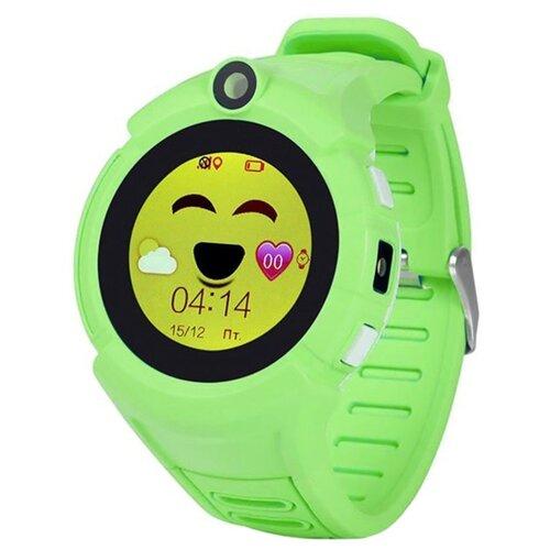 цена Часы Smart Baby Watch Q610 салатовый онлайн в 2017 году
