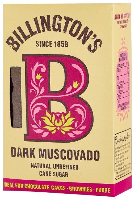 Сахар Billington's Dark Muscovado, картонная коробка 0.5 кг