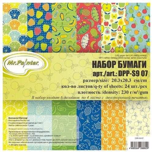 Купить Бумага Mr. Painter 20, 3x20, 3 см, 24 листа, DPP-S9 07, Бумага и наборы