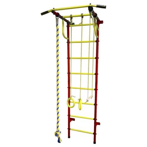 цена на Шведская стенка Пионер С2Н красный/желтый