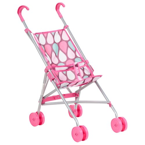 Прогулочная коляска Melobo / Melogo Трость (9302D) розовый/фиолетовый/капли коляска трансформер melobo melogo 9336 розовый цветочки