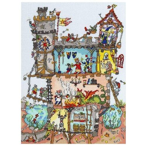 Купить Bothy Threads Набор для вышивания Castle 26 x 35 см (XCT19), Наборы для вышивания