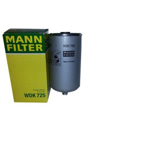 Топливный фильтр MANNFILTER WDK725