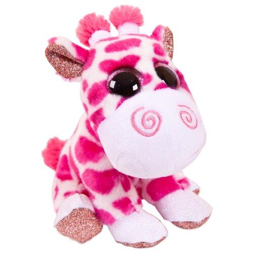 Купить Мягкая игрушка ABtoys Жираф розовый 14 см, Мягкие игрушки