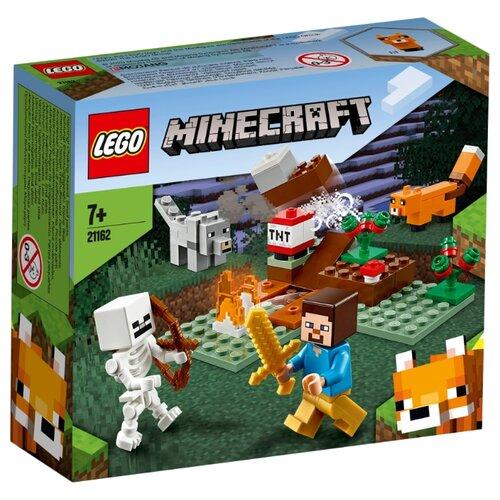 Купить Конструктор LEGO Minecraft 21162 Приключения в тайге, Конструкторы