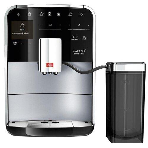 Кофемашина Melitta Caffeo Barista TS Smart черный/серебристый кофемашина melitta caffeo barista ts f 750 101 1450 вт серебристый