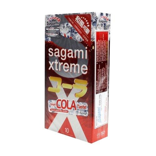 Купить Презервативы Sagami Xtreme Cola, 10 шт.