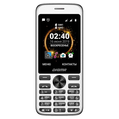 Телефон DIGMA Linx C280 черный телефон