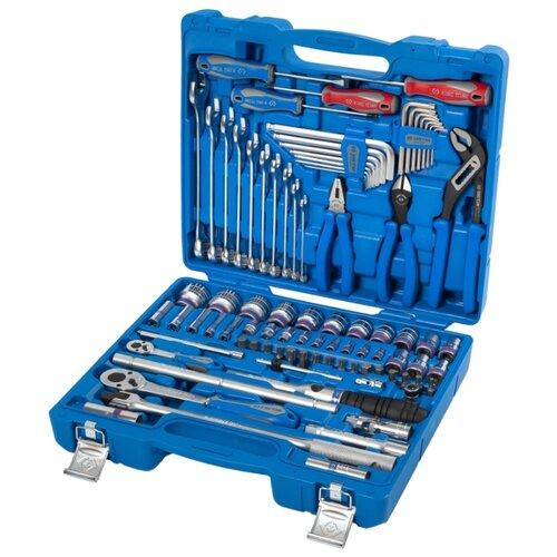 цена на Набор инструментов KING TONY (87 предм.) 7587SR01 синий