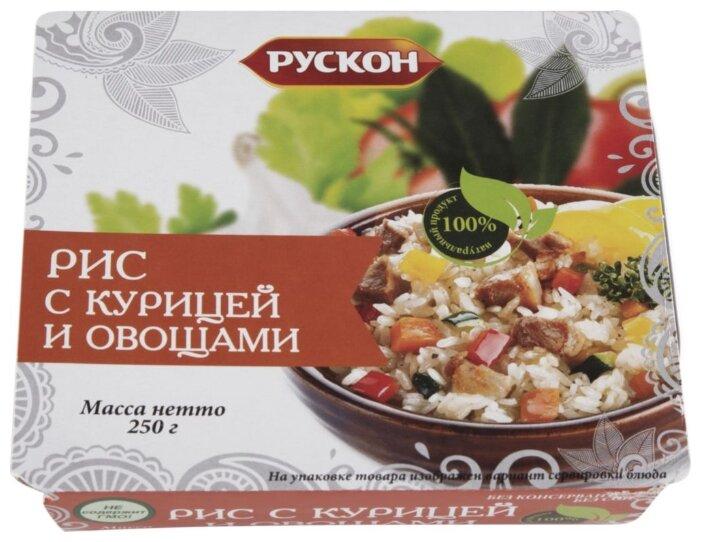 РУСКОН Рис с курицей и овощами 250 г