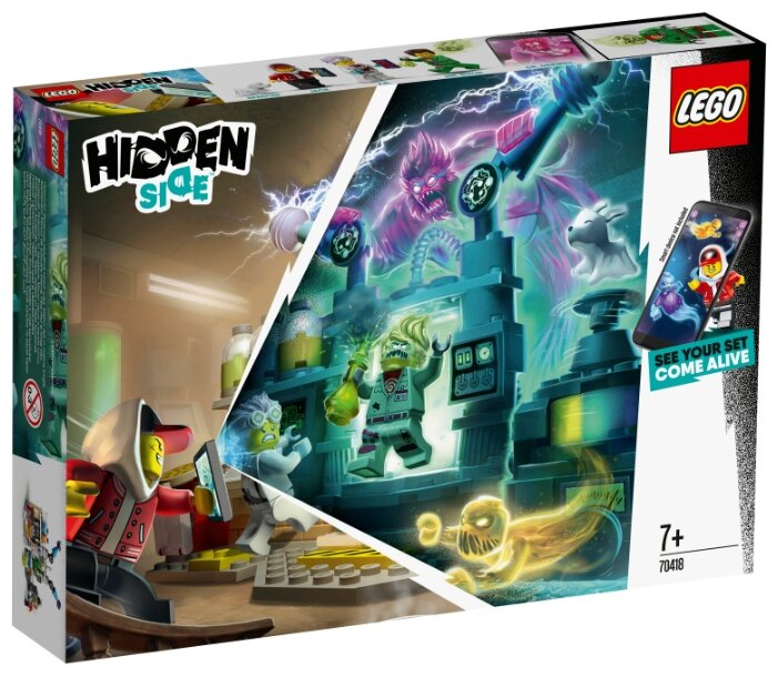 Конструктор LEGO Hidden Side 70418 Лаборатория призраков