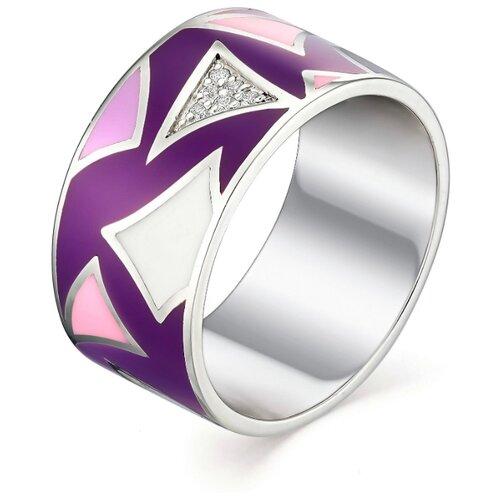 АЛЬКОР Кольцо с 18 фианитами из серебра 01-0994-ЭМ69-00, размер 16.5 алькор кольцо с 14 фианитами из серебра 01 1302 эм69 00 размер 16