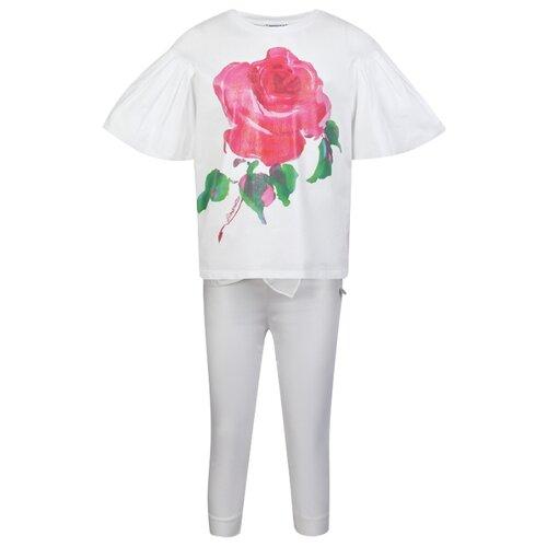 Купить Комплект одежды Simonetta размер 128, белый, Комплекты и форма