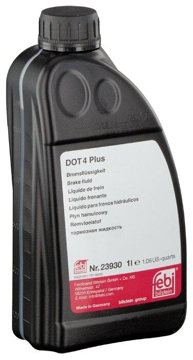 Тормозная жидкость Febi Dot 4 Plus (23930) 1 л