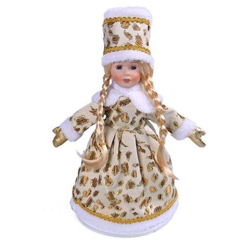 Фигурка Новогодняя Сказка Снегурочка 35 см (973011) золото фигурка снегурочка 5х7 см