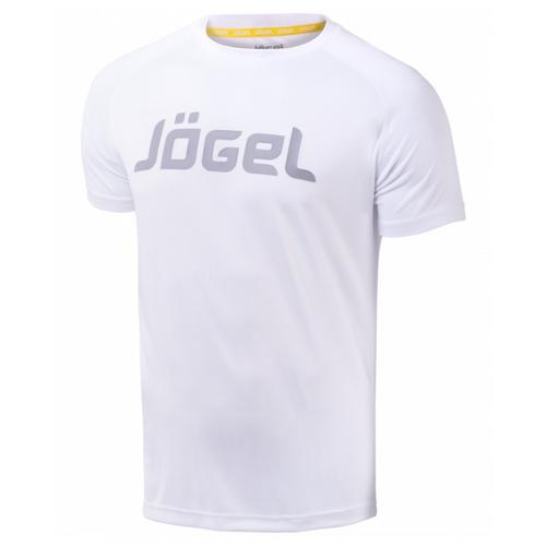 Купить Футболка Jogel JTT-1041 размер YL, белый/серый, Футболки и топы