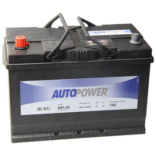Автомобильный аккумулятор Autopower A91JX
