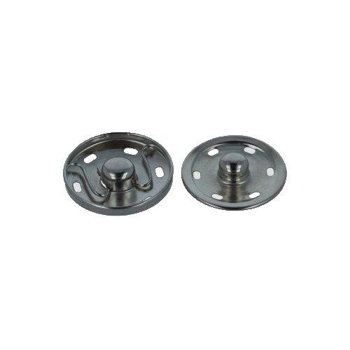 Фото - Gamma Кнопки пришивные (KL-300), под черный никель, 30 мм, 10 шт. gamma клипсы для подтяжек 2 см sus 20 никель 4 шт