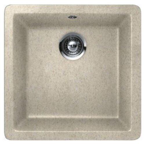 Фото - Врезная кухонная мойка 45 см Schock Quadro N-100S саббиа врезная кухонная мойка 45 см schock soho n 100s серебристый камень