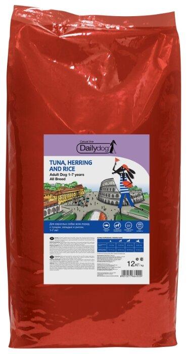Корм для собак Dailydog (12 кг) Adult Tuna, Herring and Rice
