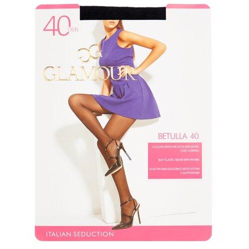 Колготки Glamour Betulla 40 den, размер 4-L, nero (черный) колготки glamour thin body 4 40 den черный