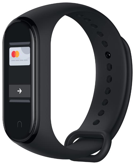Умный браслет Xiaomi Mi Band 4 NFC, черный фото 1