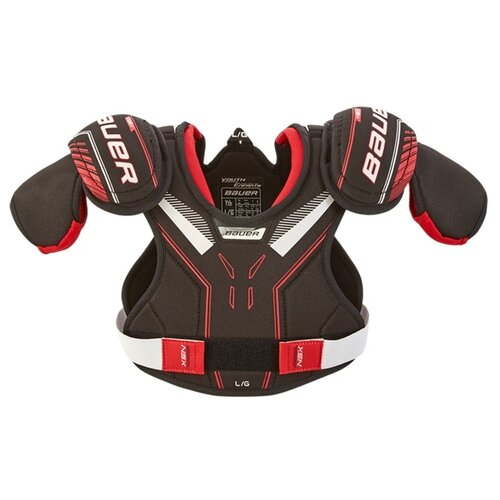 Защита груди Bauer NSX S19 shoulder pad Yth, р. L, черный
