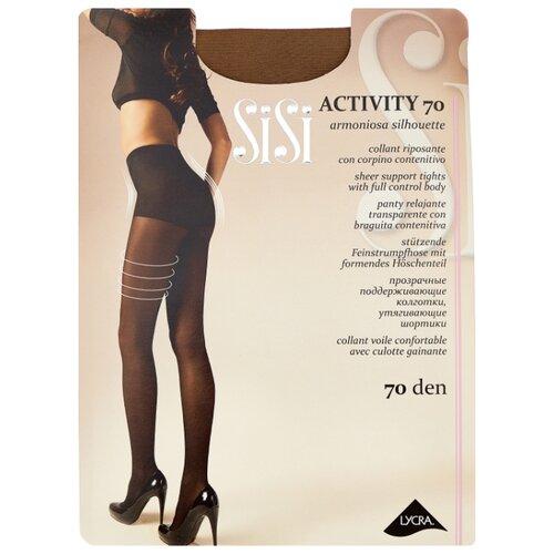 Колготки Sisi Activity 70 den, размер 5-MAXI XL, daino (коричневый) колготки sisi activity 70 den