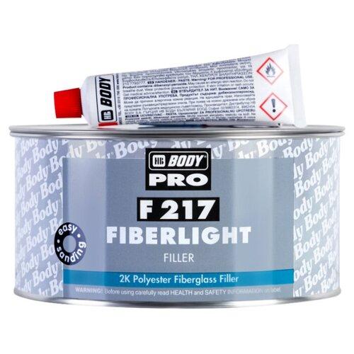 Комплект (шпатлевка, отвердитель) HB BODY PRO F217 Fiberlight 500 мл