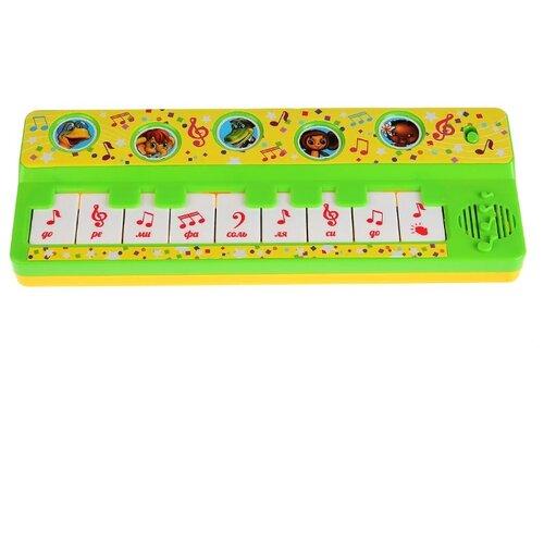 Купить Умка пианино B1517258-R14 зеленый, Детские музыкальные инструменты
