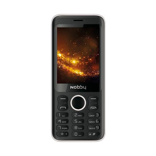 Телефон Nobby 321 черный / серый