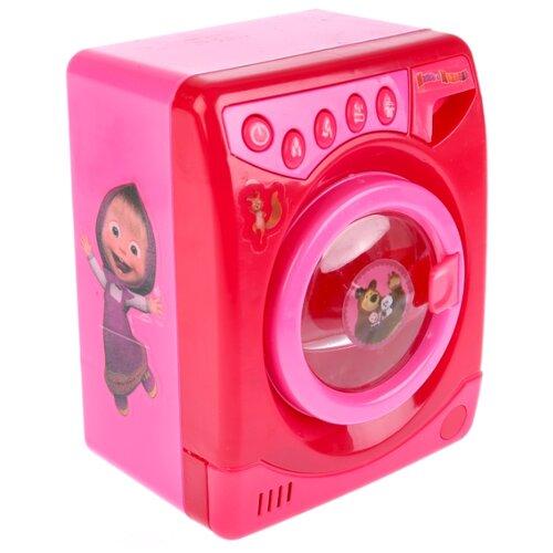 Стиральная машина Играем вместе Маша и Медведь B1300418-R розовый, Детские кухни и бытовая техника  - купить со скидкой