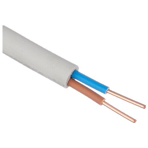 Кабель NYM 2х2.5 кв. мм (5 м) Пан Электрик ГОСТ белый