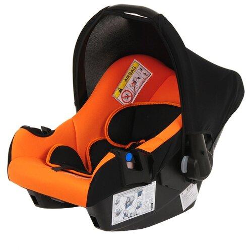 Фото - Автокресло-переноска группа 0+ (до 13 кг) BamBola Nautilus, черный/оранжевый автокресло группа 0 1 до 18 кг bambola bambino черный синий