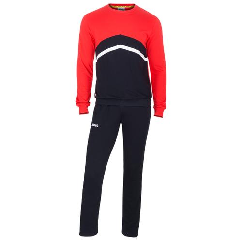 Спортивный костюм Jogel размер XS, черный/красный/белый платье oodji ultra цвет красный белый 14001071 13 46148 4512s размер xs 42 170
