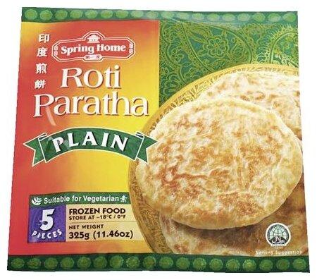 Spring Home Лепешка Roti Paratha Plain