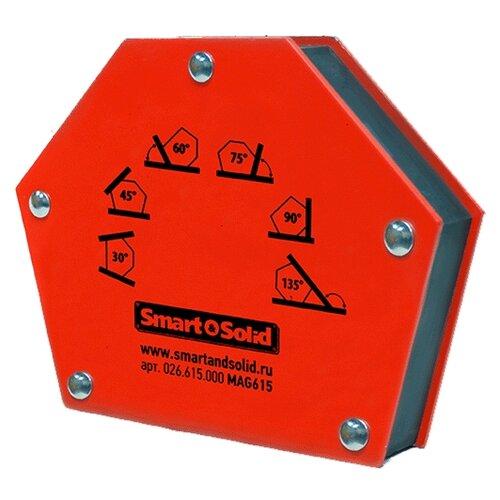 Магнитный угольник Smart & Solid MAG 615 красный магнитный угольник start sm1603 75 lbs красный