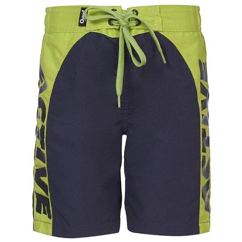 Купить Шорты для плавания Oldos размер 110, синий/салатовый, Белье и пляжная мода
