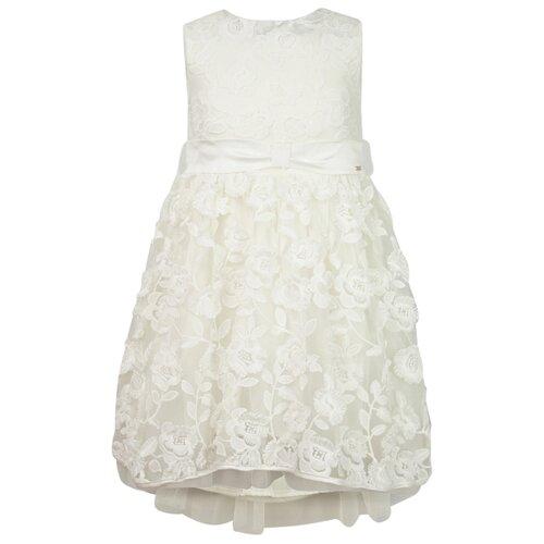 Купить Платье Mayoral размер 122, кремовый, Платья и сарафаны
